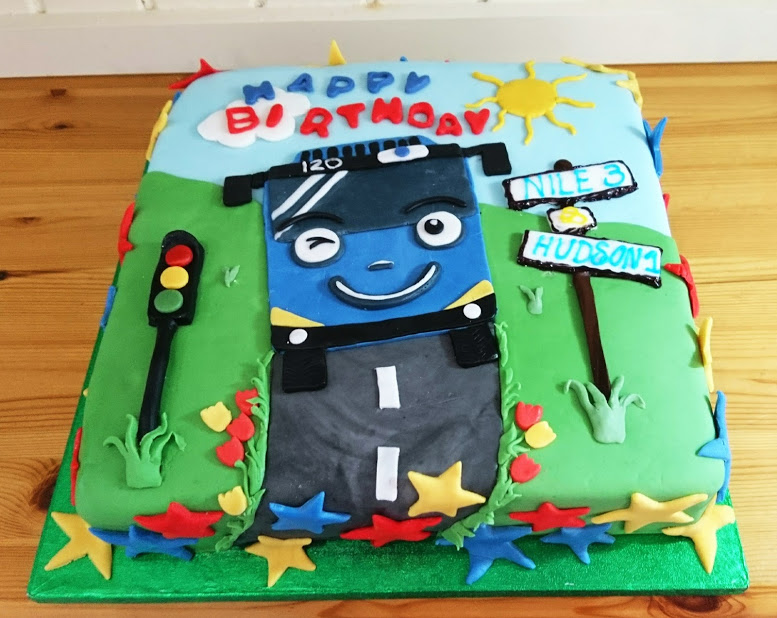 Recent children's birthday cakes