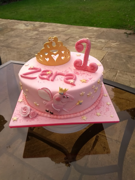 Excellent Peppa Pig Cake The Joy Of Cake Funny Birthday Cards Online Inifodamsfinfo