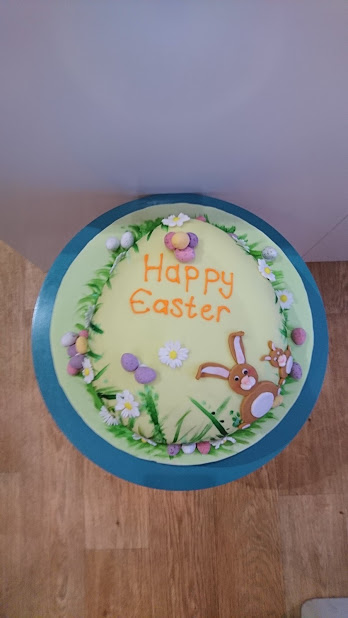 Easter bunny sponge