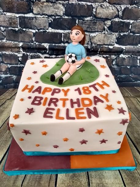 Bradford City FC cake
