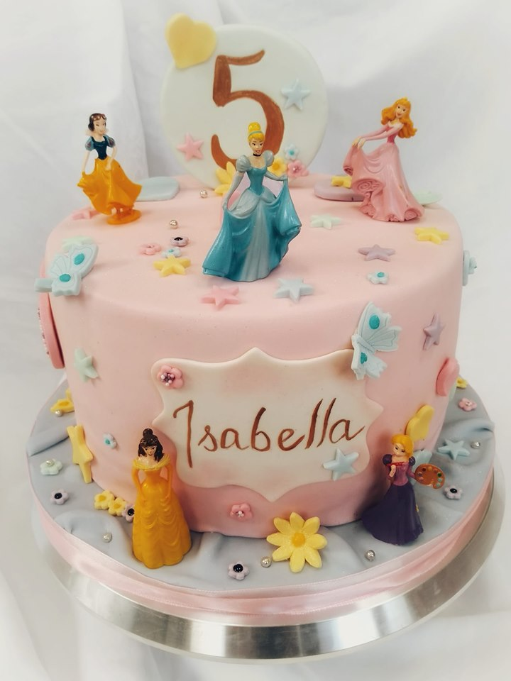 A cake fit for a princess…or five!